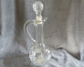 Vintage 1973 Avon Cruet  Pitcher (decanter)