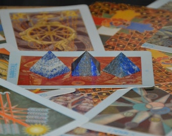 DISCOUNTED Lapiz Lazuli Crystal Pyramid