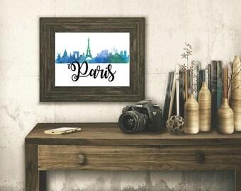 Paris Digital Art Print