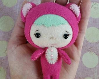 Plush bear | Binky Boo | Gingermelon