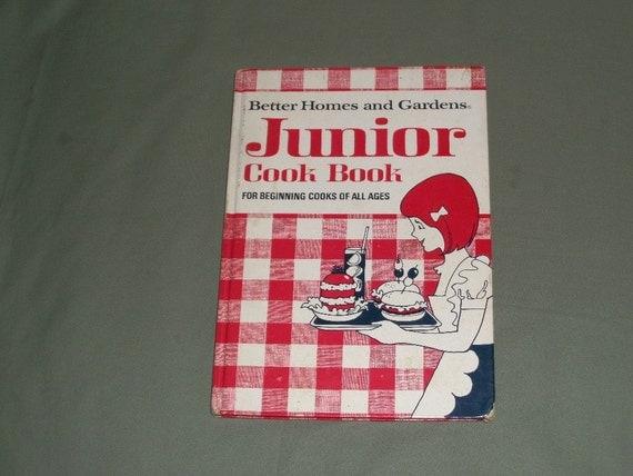 Vintage Junior Cookbook 1972 Better Homes And Garden