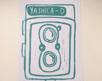120mm Yashica Lino Print - A5