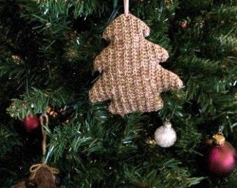 Blank Knit Tree Ornament