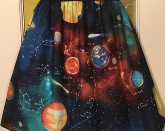 Solar System Skirt