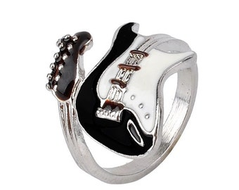 Guitar Ring -  Punky Unique Guitar Shaped Ring