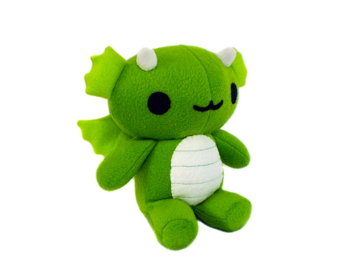 Chibi Plush Dragon Pattern