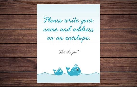 Address An Envelope Sign, Address An Envelope, Please