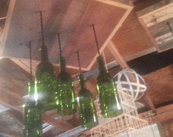 Hochwertig 5 Helle Weinflasche Kronleuchter