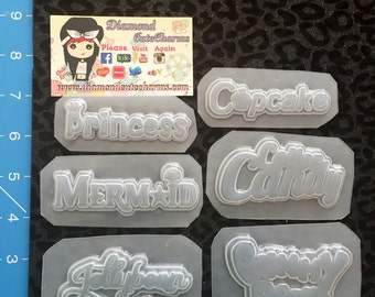 Word molds
