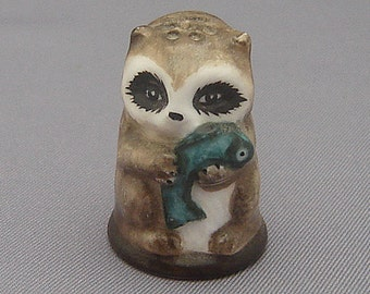 Franklin Thimble - Raccoon (Friends of the Forest Series)