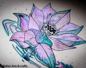 Metallic Lotus