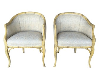 A. Rudin Accent Chairs- A pair