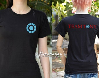 Team Tony t shirt short sleeve