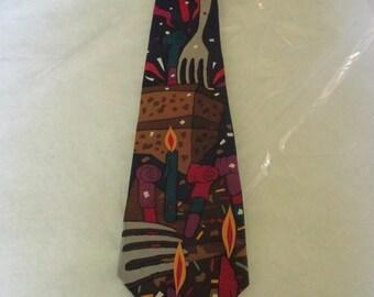 """Rare Beatles necktie - """"Birthday"""""""