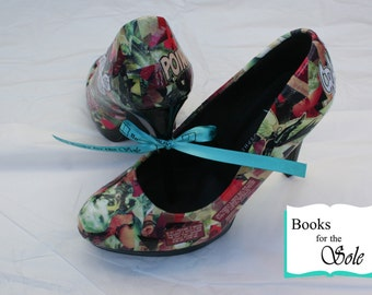 Custom Superhero Comic Book Literary Heels/Shoes