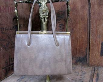 Bagmaster Bag - Vintage Handbag - 1960s Handbag - 1960s Purse - Vintage Purse - Kelly Bag - Over Arm Bag - Mid Century Purse