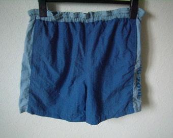 Vintage Navy swim shorts, Sailing area,