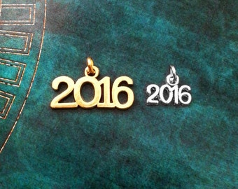 ONE 2016 Charm Add-On, Year Charm, 2016 Pendant