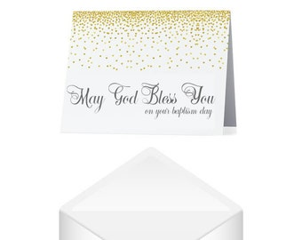 Cross card christening card baptism card communion card m4hsunfo
