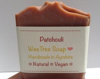 Patchouli Natural Handmade Vegan Soap Bar