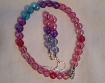 Bi Pride Bracelet and Earrings