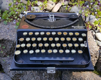 1922 Remington Portable Manual Typewriter Working Excellent Condition