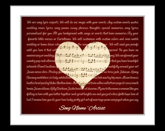 Valentines day gifts for him her, Valentine's gift boyfriend girlfriend husband special song, personalized heart Valentine gift ideas wife