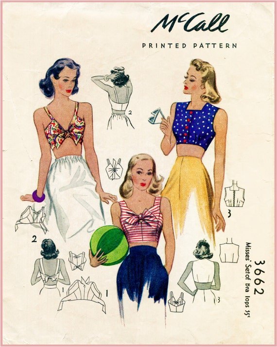 40er Jahre 1940er Jahre Jahrgang Repro Frauen nähen Muster