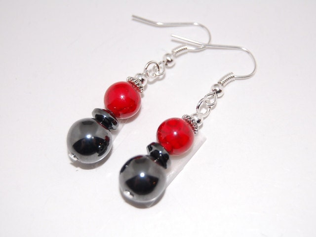 Red Hematite Beads Red CoralMagnet...