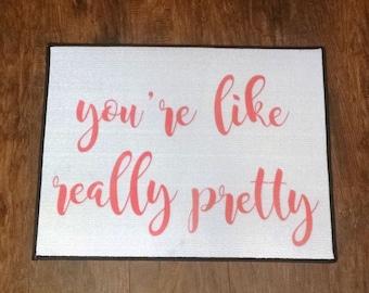 Like really pretty etsy for You re like really pretty rug