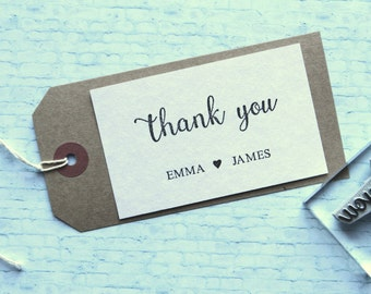 Thank you. Wedding rubber stamp.  Personalised.
