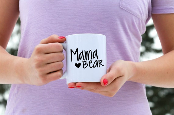 MAMA BEAR | Message Mugs | 11 oz.