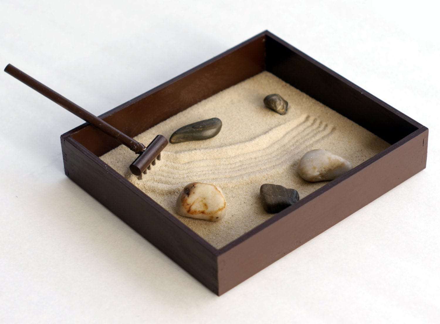 Zen garden tabletop desk accessories tabletop decor office for Table zen garden