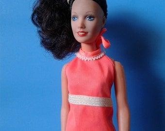 "Vintage Kenner Doll "" Darci / Erica Cover Girl Doll HTF Brunette"" 1978 Mod Era"