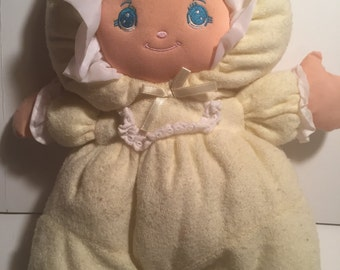 Little darlins, well made toy company 12 terry cloth doll