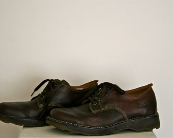 Vintage Dr. Martens Mens Size 10 UK (11 US) Chestnut Brown Leather