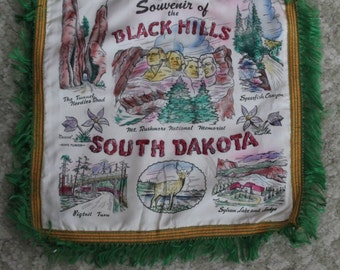 Black Hills South Dakota decorative pillow cover