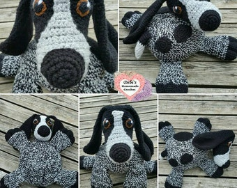 Pillow Pal Puppy, Made-to-Order Crochet