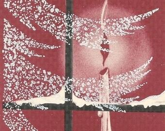 Vintage Christmas Card  Digital Image Digital Download Clip Art 300dpi