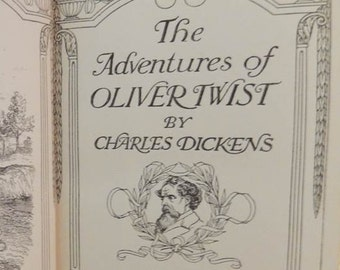 Oliver Twist, 1907 First Edition