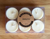 Create Your Own Wick Habit Sample Pack //Six Tea Lights //Soy Candles