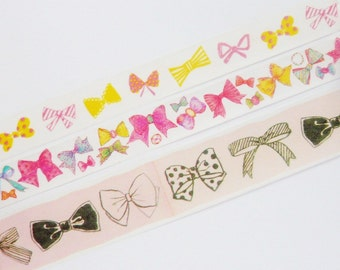 Bow Washi Tape Sample Set