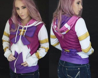 League of Legends Star Guardian Lux Inspired Hoodie