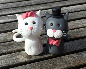 wedding cake toppers cats uk bespoke fimo cake decorations any design can be by 26435