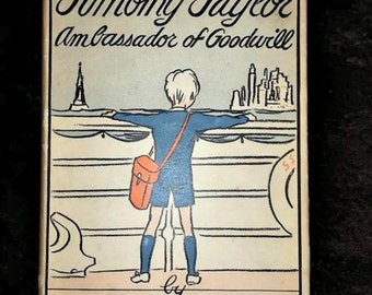 Timothy Taylor Ambassador of Goodwill Vintage Children's Poetry Book