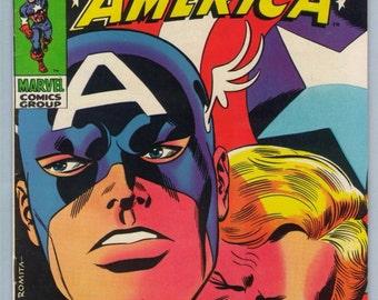 Captain America 114 Jun 1969 FI+ (6.5)