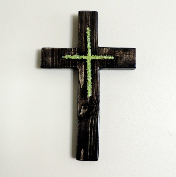 11x7 Wooden Crosses Wall Decor Rustic Cross By