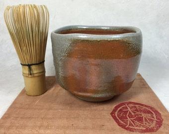 Matcha Chawan - Anagama wood fired