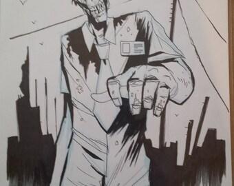 Zombie A4 original