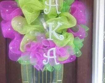 Custom Deco Mesh Wreaths